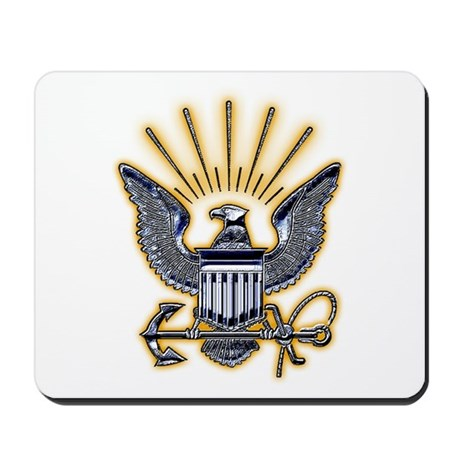 USN US Navy Eagle Mousepad