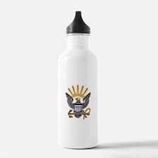 USN US Navy Eagle Water Bottle