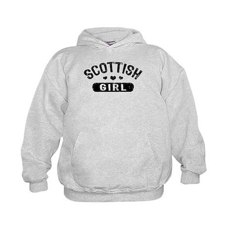 Scottish Girl Kids Hoodie