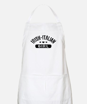 Irish Italian Girl Apron