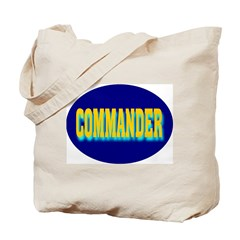 Commander Tote Bag