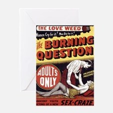 Unique Adults only Greeting Card