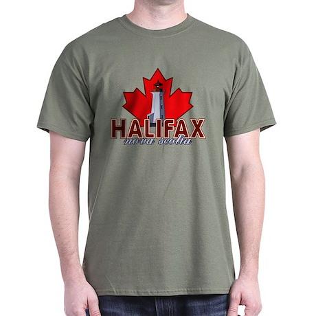 Halifax Lighthouse Dark T-Shirt