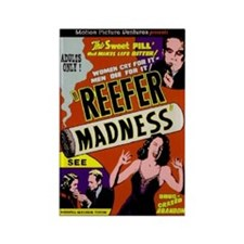 Reefer Madness 1936 BIG PNG Magnets