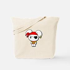 Pirate Bunny Tote Bag