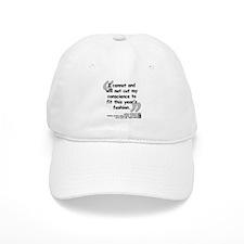 Hellman Fashion Quote Baseball Cap