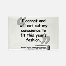 Hellman Fashion Quote Rectangle Magnet