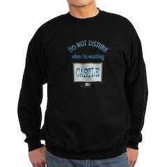 Do Not Disturb Watching Castle Sweatshirt