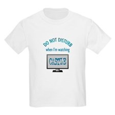 Do Not Disturb Watching Castle T-Shirt