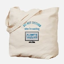 Do Not Disturb Watching Castle Tote Bag