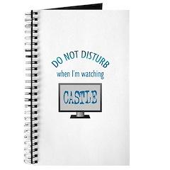 Do Not Disturb Watching Castle Journal
