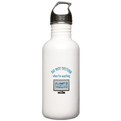 Do Not Disturb Watching Castle Water Bottle