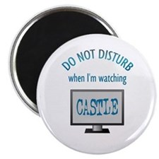 Do Not Disturb Watching Castle Magnet