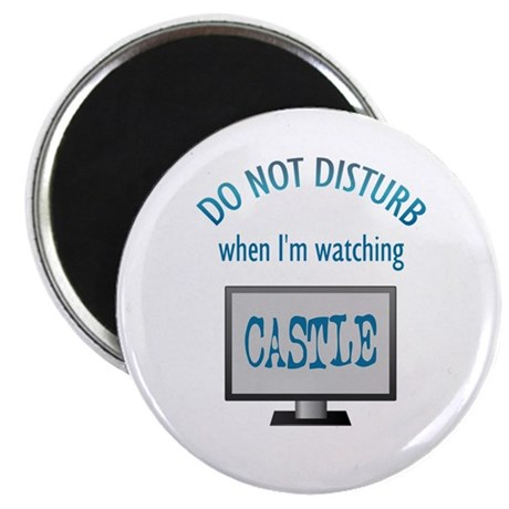 Do Not Disturb Watching Castle Magnet