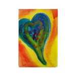 Bright Valentine Rectangle Magnet (10 pack)