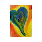 Bright Valentine Rectangle Magnet