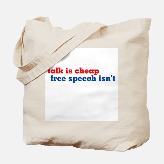 Protect Free Speech Tote Bag