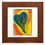 Bright Valentine Framed Tile