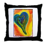Bright Valentine Throw Pillow