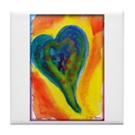 Bright Valentine Tile Coaster