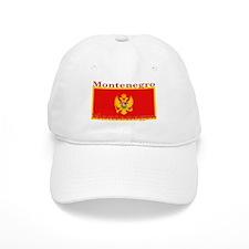 Montenegro Montenegrin Flag Baseball Cap