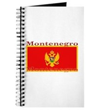 Montenegro Montenegrin Flag Journal