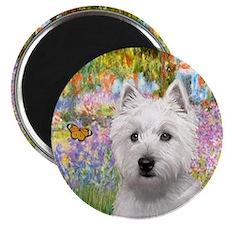 Garden - Westie (P) Magnet