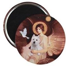 Angel1-Westie 11b Magnet
