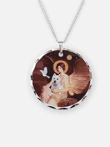 Angel1-Westie 11b Necklace