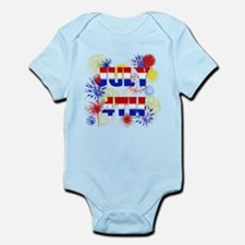 Celebrate July 4th Infant Bodysuit