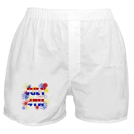 Celebrate July 4th Boxer Shorts