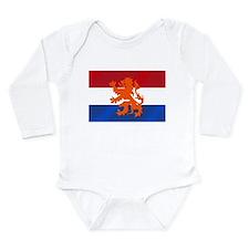 Holland Lion Long Sleeve Infant Bodysuit