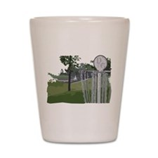 Lapeer Disc Golf Shot Glass