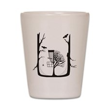 Monroe Disc Golf Shot Glass