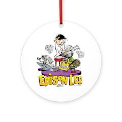 Edison & Joules Ornament (Round)