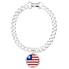 Cool Liberian flag designs Bracelet