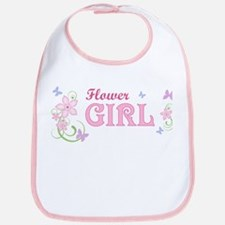 Flower Girl [f/b] Bib