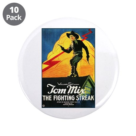 """The Fighting Streak 3.5"""" Button (10 pack)"""
