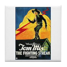 The Fighting Streak Tile Coaster