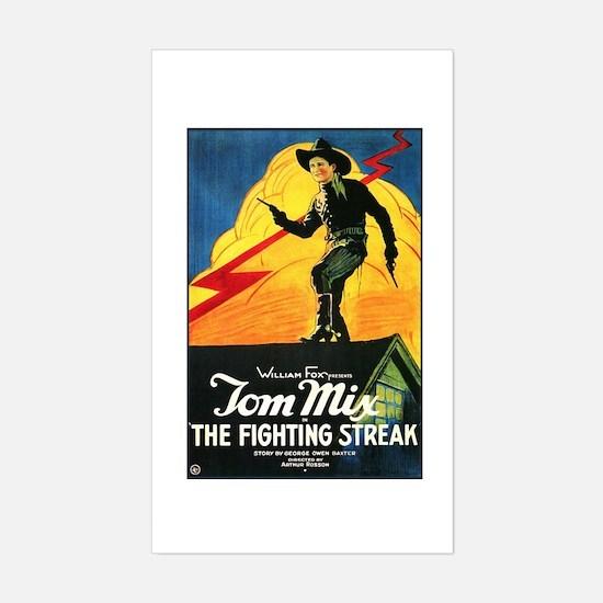 The Fighting Streak Sticker (Rectangle)