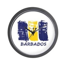 Barbados Wall Clock