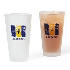 Barbados Pint Glass