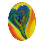Bright Valentine Ornament (Oval)