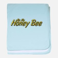 Be My Honey Bee baby blanket