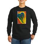 Bright Valentine Long Sleeve Dark T-Shirt