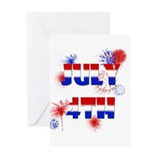 Celebrate July 4th Greeting Card