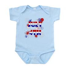 Celebrate July 4th Infant Bodysuit