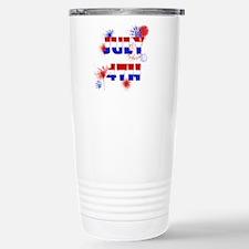 Celebrate July 4th Travel Mug
