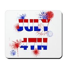 Celebrate July 4th Mousepad