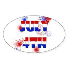 Celebrate July 4th Decal